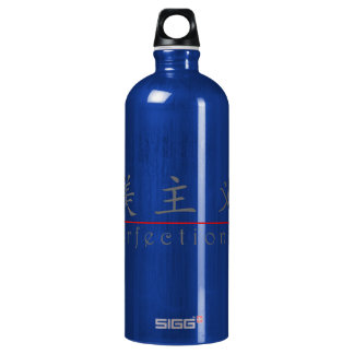 Chinese word for Perfectionist 10383_1.pdf Aluminum Water Bottle