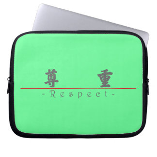 Chinese word for Respect 10059_4.pdf Laptop Computer Sleeve