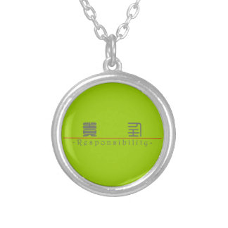 Chinese word for Responsibility 10371_0.pdf Custom Necklace