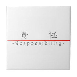 Chinese word for Responsibility 10371_2 pdf Ceramic Tiles
