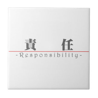 Chinese word for Responsibility 10371_3 pdf Ceramic Tile