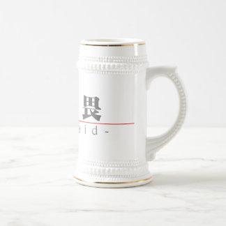 Chinese word for Unafraid 10317_3.pdf Mug