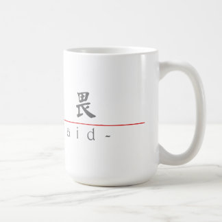 Chinese word for Unafraid 10317_5.pdf Coffee Mugs