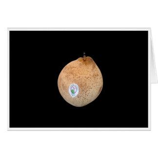 Chinese Ya Pear Card