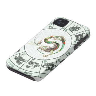 Chinese Year of the dragon 2012 iPhone 4 Case-Mate Case