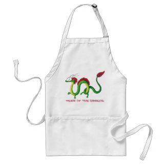 Chinese Year of The Dragon Adult Apron