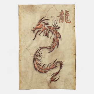 Chinese Year of the Dragon Asia Towel