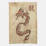 Chinese Year of the Dragon Asian Towels