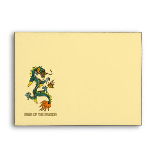 Chinese Year of the Dragon Envelope