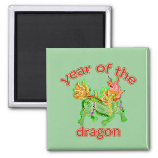Chinese Year of the Dragon Illustration Magnet