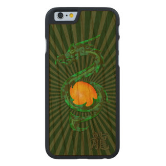 Chinese Year of the Dragon Jade Green Carved® Cherry iPhone 6 Case