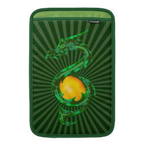 Chinese Year of the Dragon Jade Green MacBook Air Sleeve