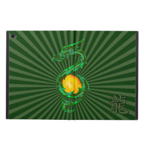 Chinese Year of the Dragon Jade Green Powis iPad Air 2 Case