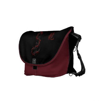Chinese Year of the Dragon Messenger Bag