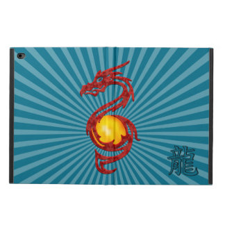 Chinese Year of the Dragon Metalic Red Powis iPad Air 2 Case