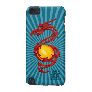 Chinese Year of the Dragon Metalic Red iPod Touch (5th Generation) Cover