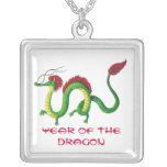 Chinese Year of The Dragon Pendant