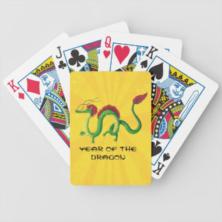 Chinese Year of The Dragon Poker Deck
