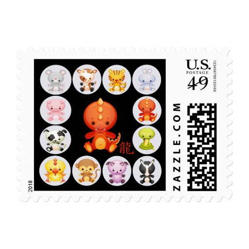 Chinese Year of the Dragon Postage