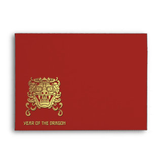 Chinese Year of the Dragon Red Envelope