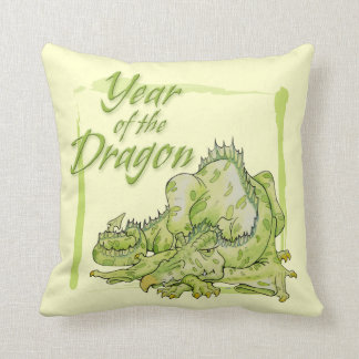 Chinese Year of the Dragon Throw Pillow