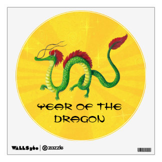 Chinese Year of The Dragon Room Stickers