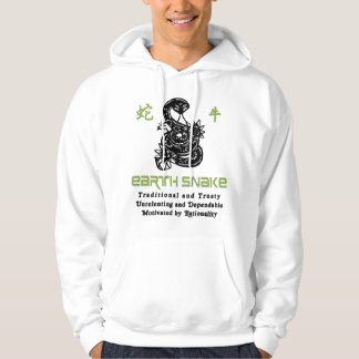 Chinese Year of The Earth Snake 1989 Hooded Sweatshirt