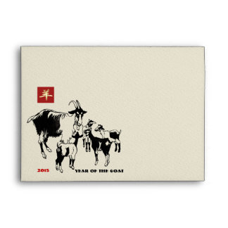 Chinese Year of the Goat Envelopes