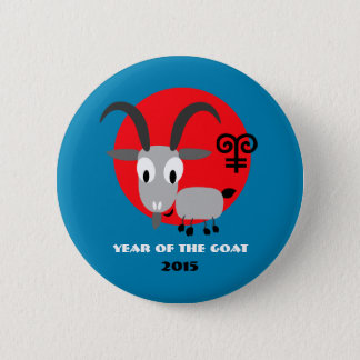 Chinese Year of the Goat Gift Buttons