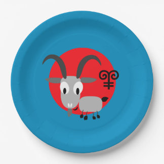 Chinese Year of the Goat Paper Plates