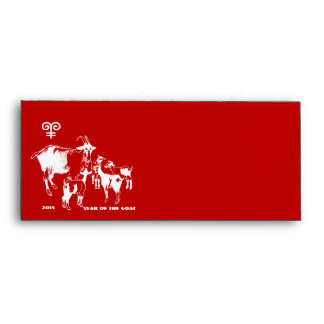 Chinese Year of the Goat Red Envelopes