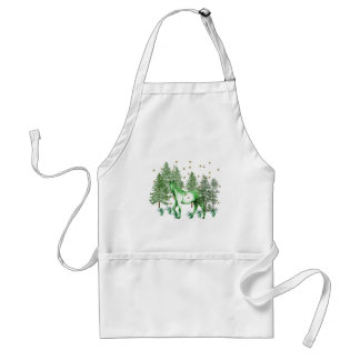Chinese Year Of The Green Horse Adult Apron