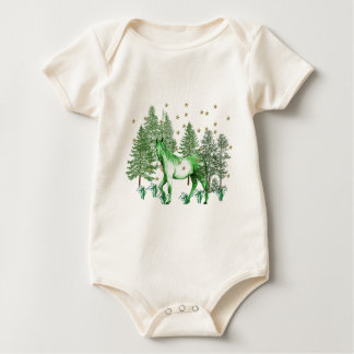 Chinese Year Of The Green Horse Baby Bodysuit