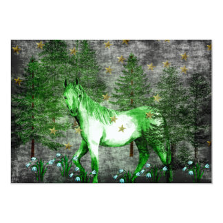 Chinese Year Of The Green Horse Card