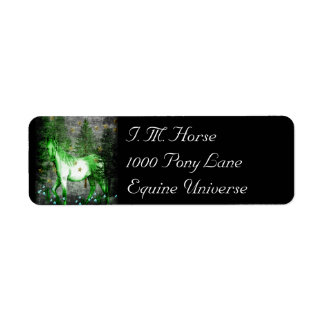 Chinese Year Of The Green Horse Return Address Label