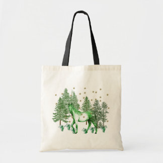 Chinese Year Of The Green Horse Tote Bag