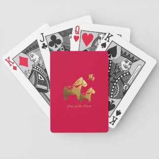 Chinese Year of the Horse Gift Playing Card Deck
