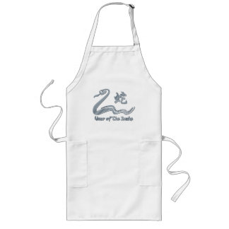 Chinese Year of The Metal Snake 1941 2001 Apron