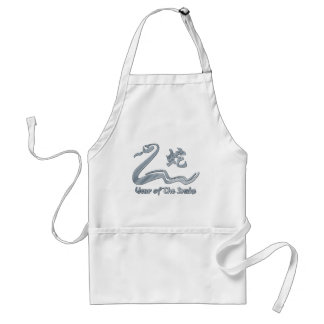 Chinese Year of The Metal Snake 1941 2001 Aprons