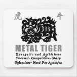 Chinese Year of The Metal Tiger 2010 Gift Mouse Pad
