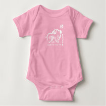 Chinese Year of the Pig Baby Bodysuits
