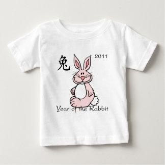 Chinese Year of the Rabbit 2011 Baby T-Shirt
