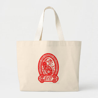 chinese-year-of-the-rabbit-2011 tote bags