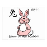 Chinese Year of the Rabbit 2011 Post Cards