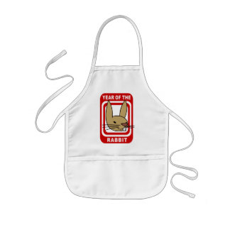 Chinese Year of The Rabbit Gift Kids' Apron