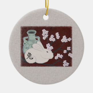 Chinese Year of the Rabbit Ornament