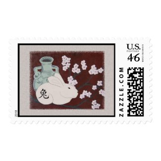 Chinese Year of the Rabbit Postage Stamp stamp