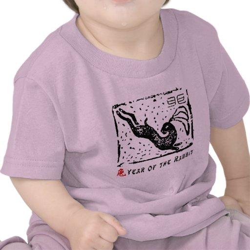 Chinese Year of The Rabbit T-Shirt Tee Shirts