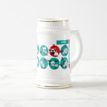 Chinese Year of the Ram Custom Name Gift Mugs