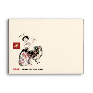 Chinese Year of the Ram Envelopes